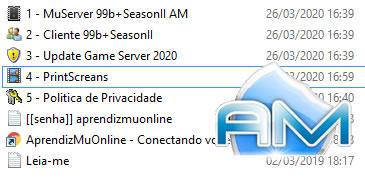 Kit Mu Server 99b+Season II , Artigo sobre Mu Online 2020, Transparency Report Files