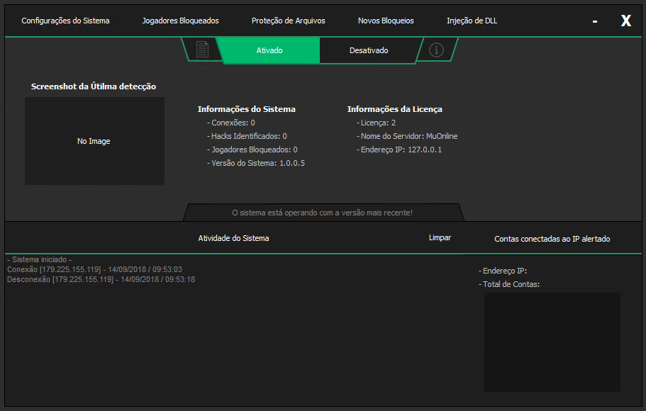 NV Protect - AntiHacker MUonline, Mu Online Anti Hacker Portal AM, AprendizMuonline, Criar Mu Online, Criar servidor privado, meu muonline.