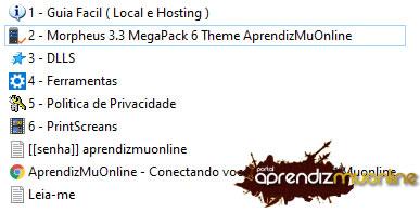 Baixar Web Morpheus + Themes, Default ; SingleV3; ImperioV3; BB-V6; Aries; YouPlay , Web compativel com servidor de mu online Season 16, como criar servidor de mu online atualizado .