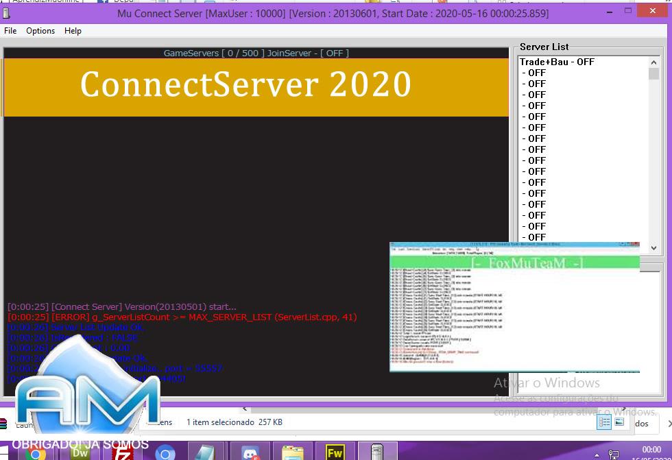 Baixar Mu Server 97+1.0 FoxTeam 2020, Kit Mu Online, como criar servidor de mu online pirata 2020, Mu Server 97+1.0 AwaY Especial 2020, criar mu online .