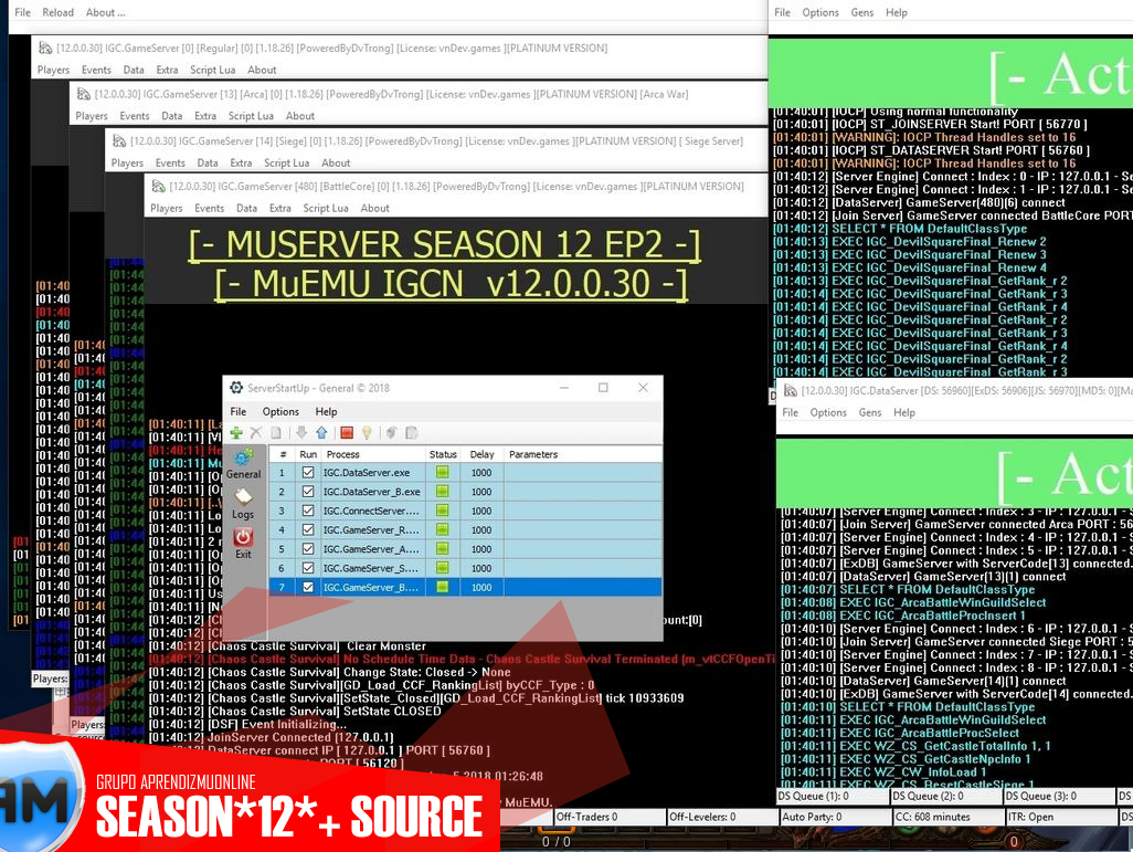Mu Server Season 12 + Source Limpo e completo Mirror - Portal Aprendiz Mu Online - ViruScanner - arquivo limpo link direto avaliado gratis. Portal Aprendiz Mu Online via Discord