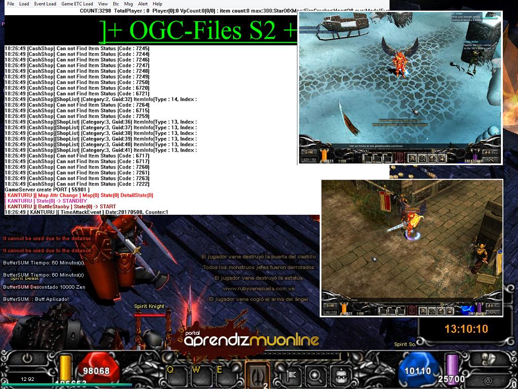 Baixar Mu Server 1.02c Ogocx completo + Guia Facil, Kit Mu Online, como criar servidor de mu online pirata 2020, Mu Server Season 2  Especial 2020, criar mu online .