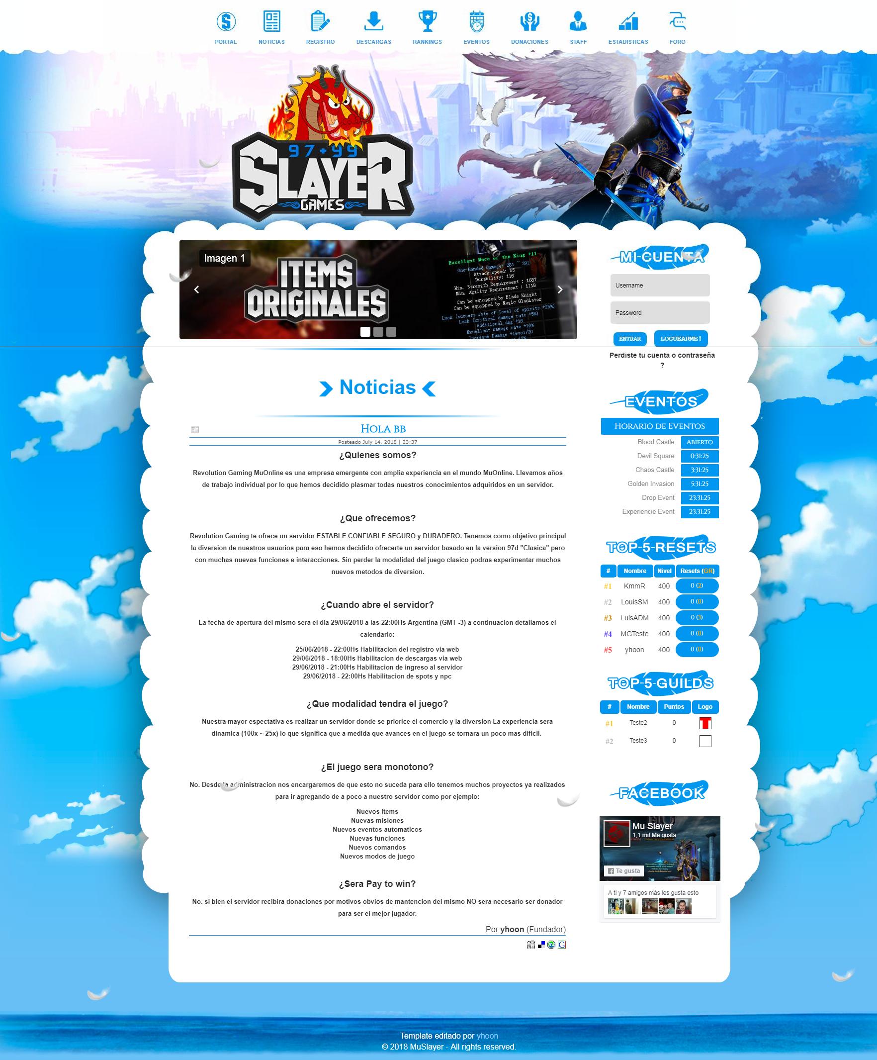 Web Destiny Mu Online MuCore 1,8, Baixar gratis, criar mu online pirata, criar servidor de mu online, o melhor portal de mu online do Brasil, Aprendiz mu online.