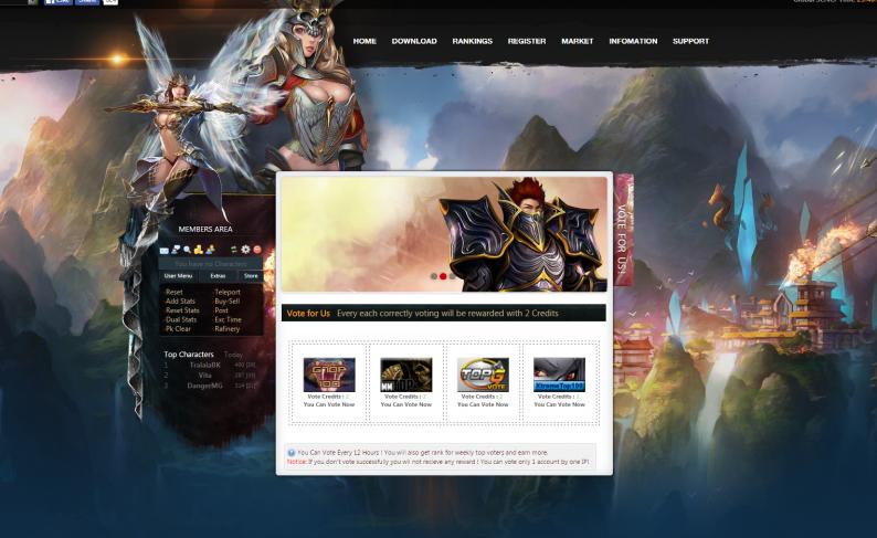 Web Mu 97D Dark steam Mu Online - Premium - Mu Online, Criar Mu Online - Portal de Mu Aprendizmuonline