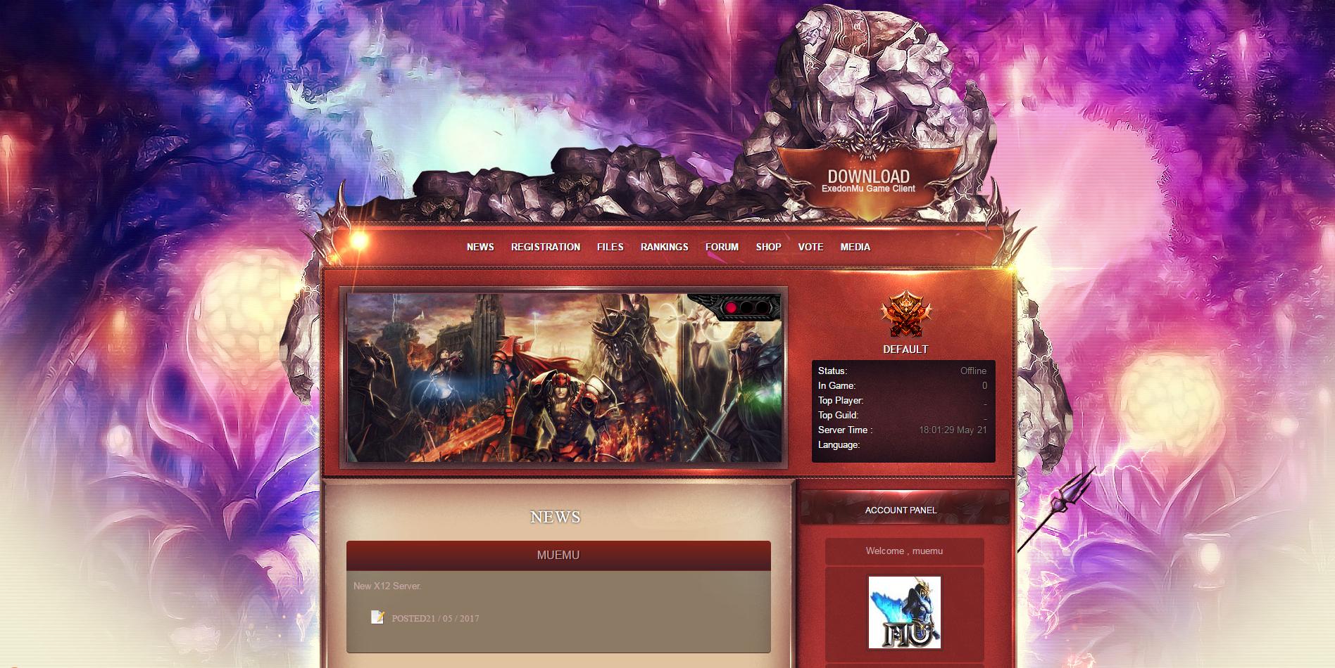 Pack DMN CMS Compativel com Mu Online Season 14 - Como criar servidor de Mu Online Season 14 WebZen, criar Mu Online, como jogar mu online season 14