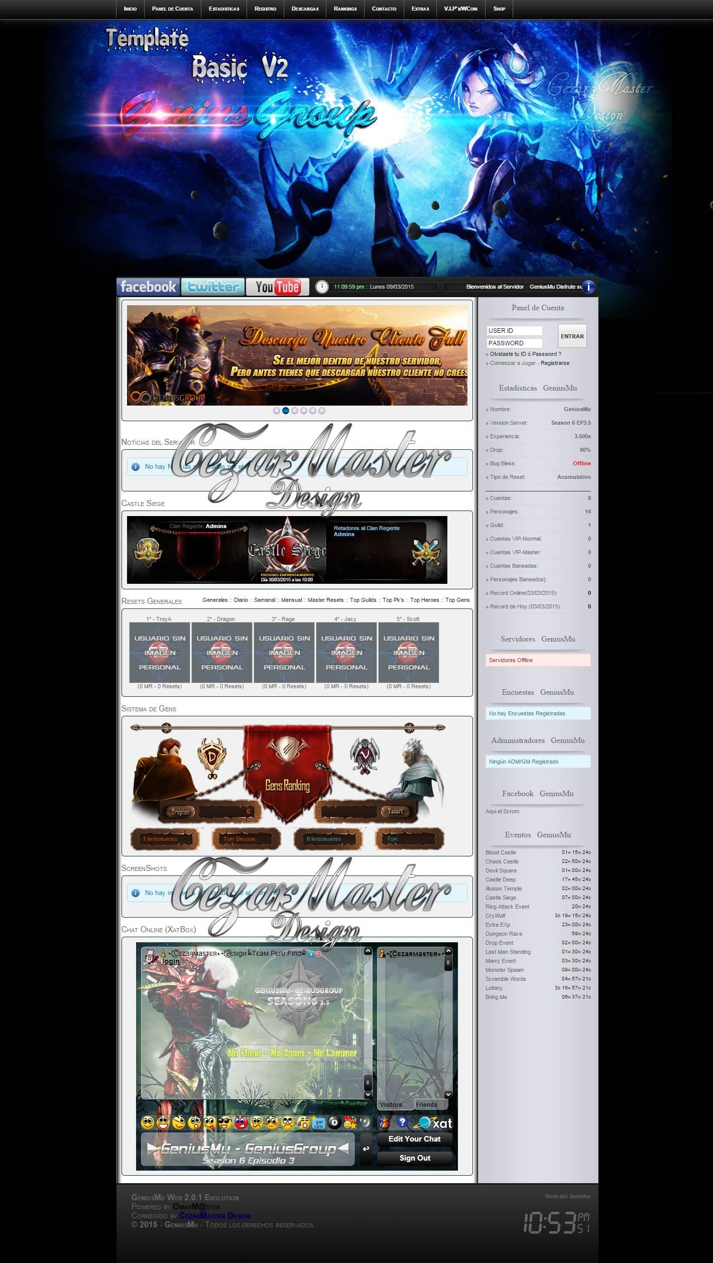 Web mu online v2 basic effectweb, lucas hp programador mu online website, como criar servidor de mu online pirata