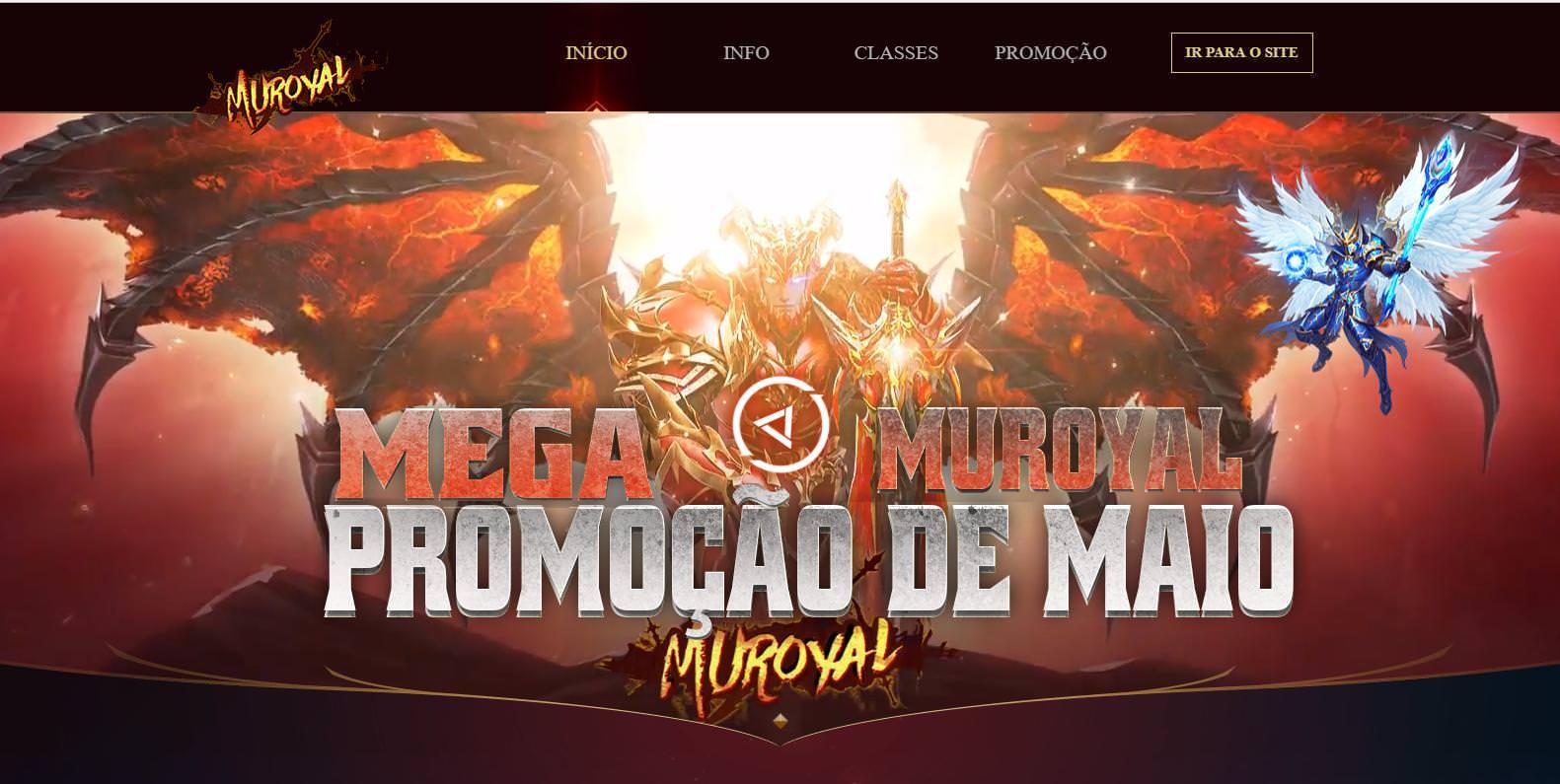 Intro  Entrada MuRoyal EP14 - Mu Online atualizado , como criar servidor de mu online season 14 portugues pt/br , discord da galera mu online