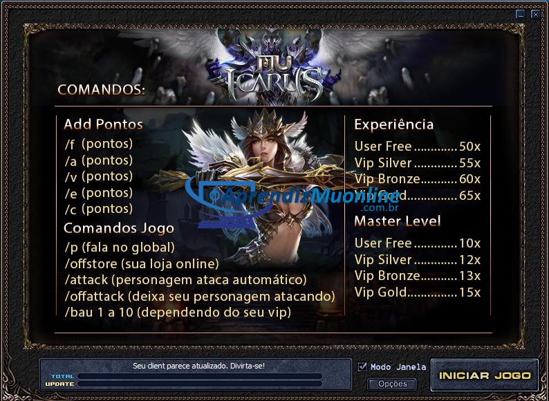 Launcher Ferrarezi Mu Online, baixar gratis ferrarezi link direto, criar mu online pirata br.