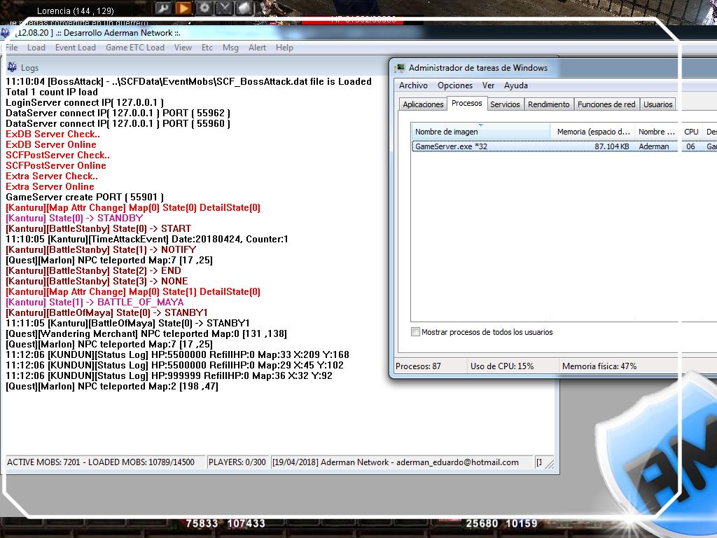mu server season 13 100% estavel, desenvolvedor DEV.PRO - EasySetting - criar servidor de mu online season 13