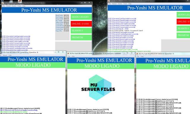 Mu Server Atualizado completo e escaneado, limpo, Season 4 Yoshi Premium Files - Como criar servidor de mu online, participe do discord da galera MU, Aprendiz Mu Online 14, sobre mu online atualizado Season .
