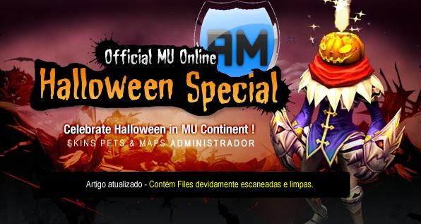 Celebração Patch Halloween Mu Online - download administrador - criar mu online - artigo disponivel e files escaneadas no melhor portal de mu online do Brasil.