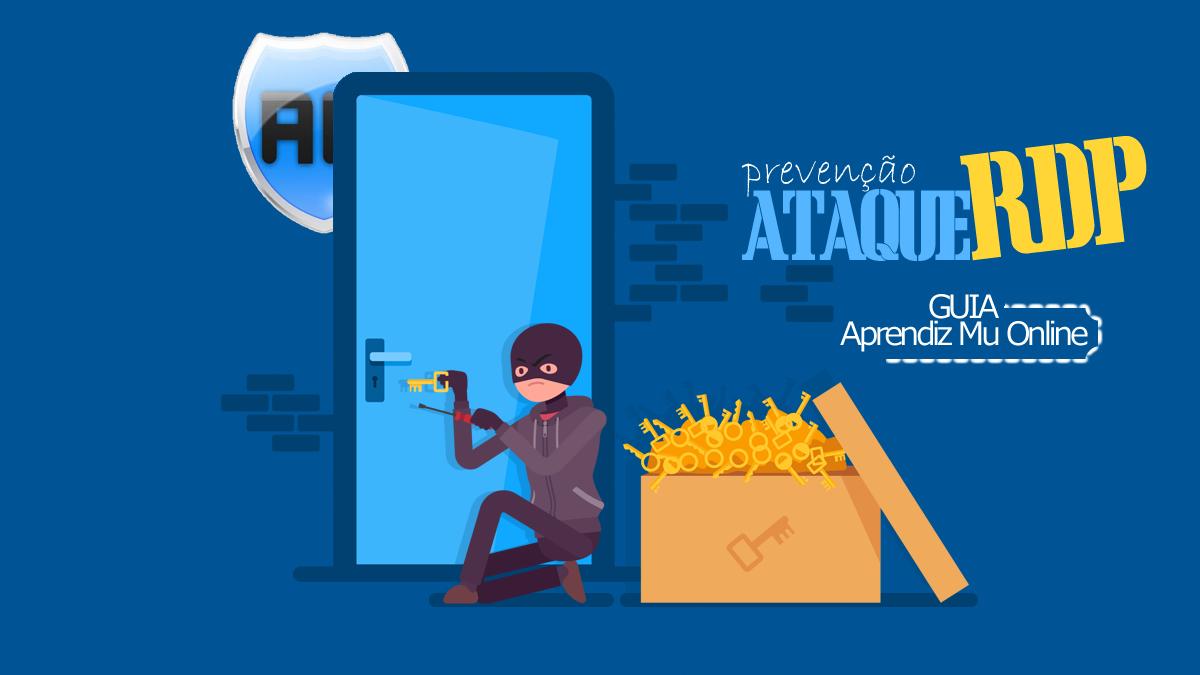 Tutorial guia Mu Online com segurança, prevenir ataque RDP em VPS, CloudServer, Servidor privado, como proteger servidor de mu online, como criar mu online pirata season 14 atualizado.