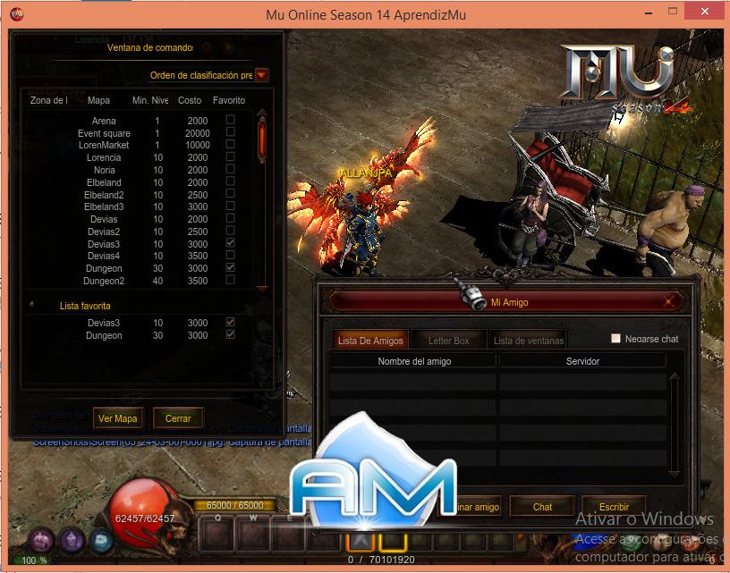 Baixar Mu Server Season 14 DEVS - Full 2020, Kit Mu Online, como criar servidor de mu online pirata 2020, Mu Server Season 14 Especial 2020, criar mu online .