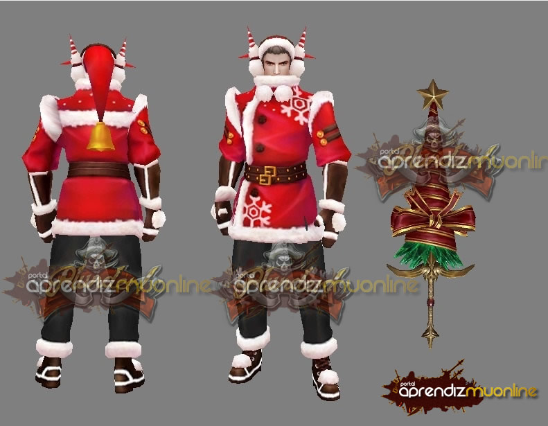 Baixar MegaPack Christman MuOnline, especial de Natal 2020, Kit Skins de Natal para Mu Online, Skins de Natal compativel com Server MU ate Season 14,  baixar Skins para mu online gratis !
