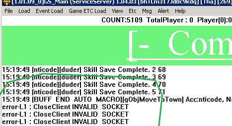 Solução error Sockets Mu Online Game Server - Ajuda criar servidor de mu online, corrigir error de socket l1, l2 - como criar servidor de mu online pirata.