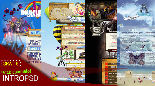 Intro PSD MUADT Liberada, WebMu Atualizados com PSD - Portal AM, Criar Mu Online, Meu MuOnline