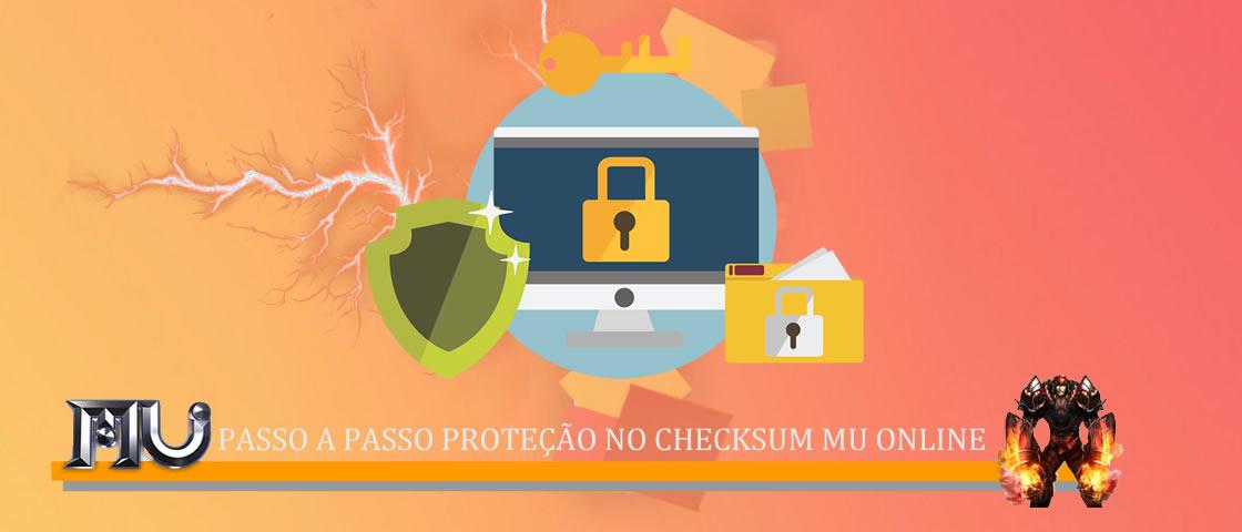 Tutorial como proteger Checksum Mu Online - Artigo como criar servidor de mu online pirata Brasil , traduzido por aprendiz mu online