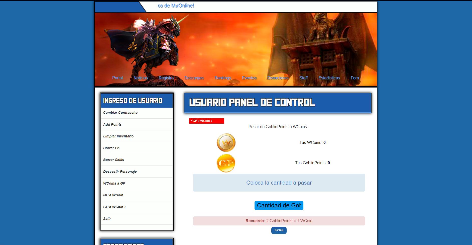 Web Nostaugico Atualizado Mu Online - Criar servidor de mu online pirata, artigo atualizado aprendiz mu online 2019