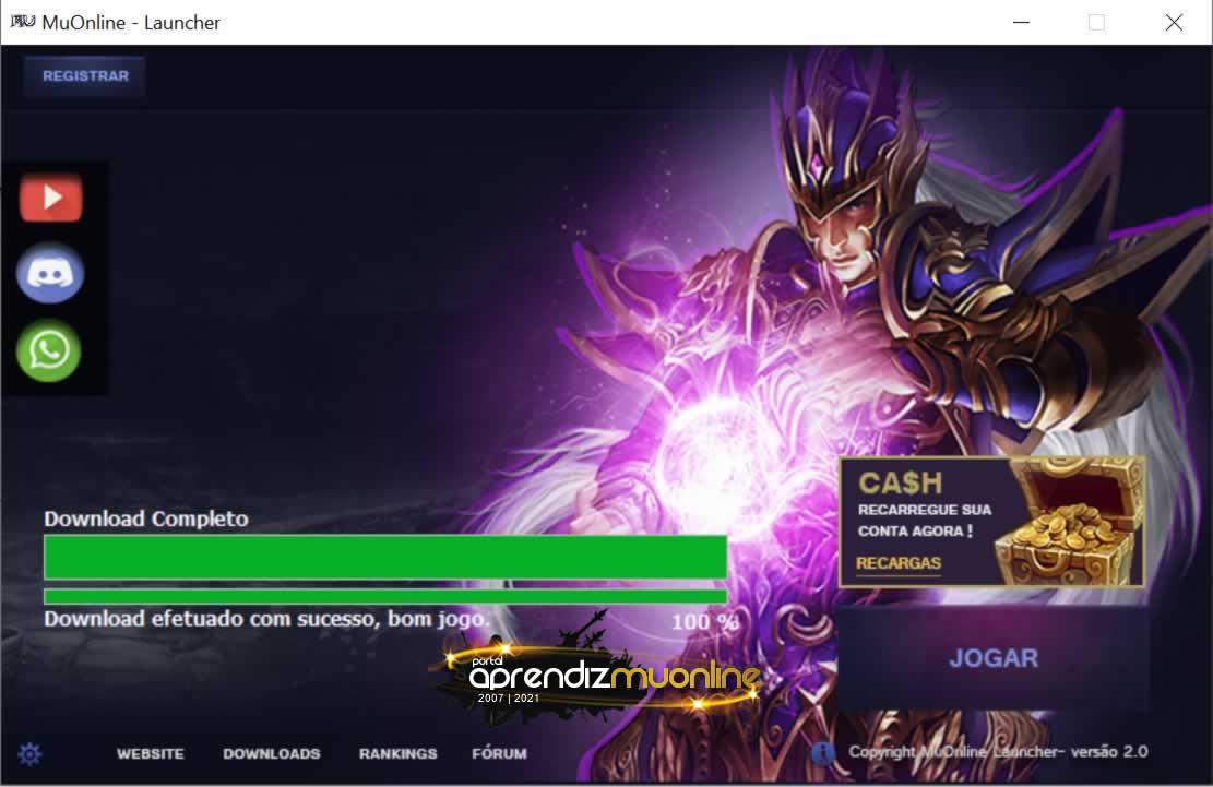 Launcher v2 2021 Cri0 , Baixar Launcher de Mu Online 2021 sem virus, Launcher para servidor de Mu Online ate Season 16 , Como criar servidor de mu online Season 16