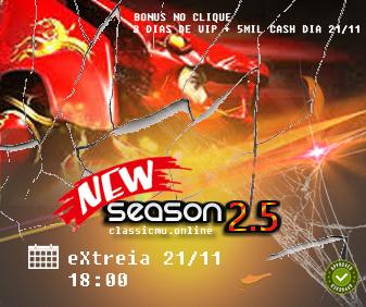 Novo servidor de Mu Online 2020, Classico season 2.5 Especial, www.classicmu.online