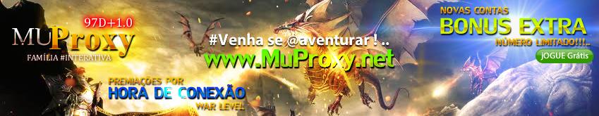 Jogue Gratis Mu Online novo 2020, MuProxy 97D+1.0, Servidor Dedicado brasileiro.